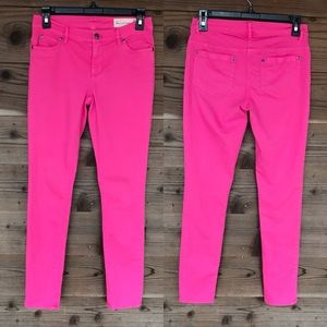 Two by Vince Camino Pink Skinny Jeans Sz 26